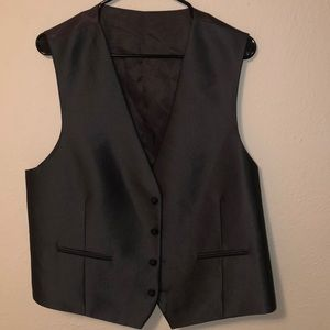 Men's grey vest Calvin Klein large